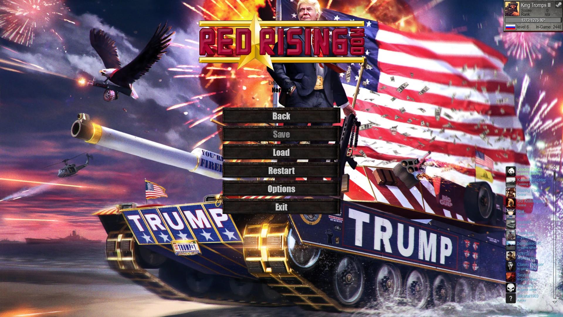 Скачать файл Trump's Convoy (Red Rising Mod 3.3) — (AS2 — 3.260.0) (v02.12.2017)