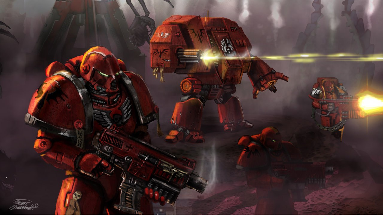 Скачать файл Men of War 2 Ultimate Mod Warhammer 40k — (AS2 — 3.260.0) (v25.11.17)