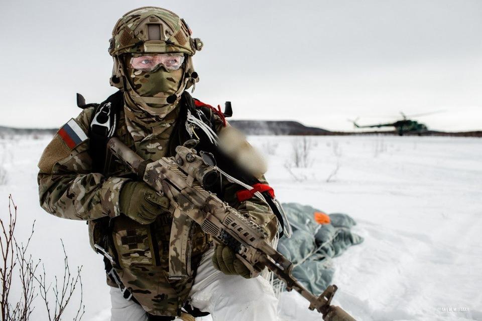 Скачать 3D модель Special Forces RUS