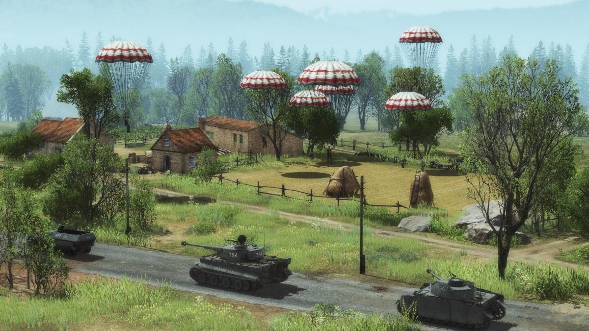 Создание отрядов бронетехники и отрядов пехоты с собственным составом