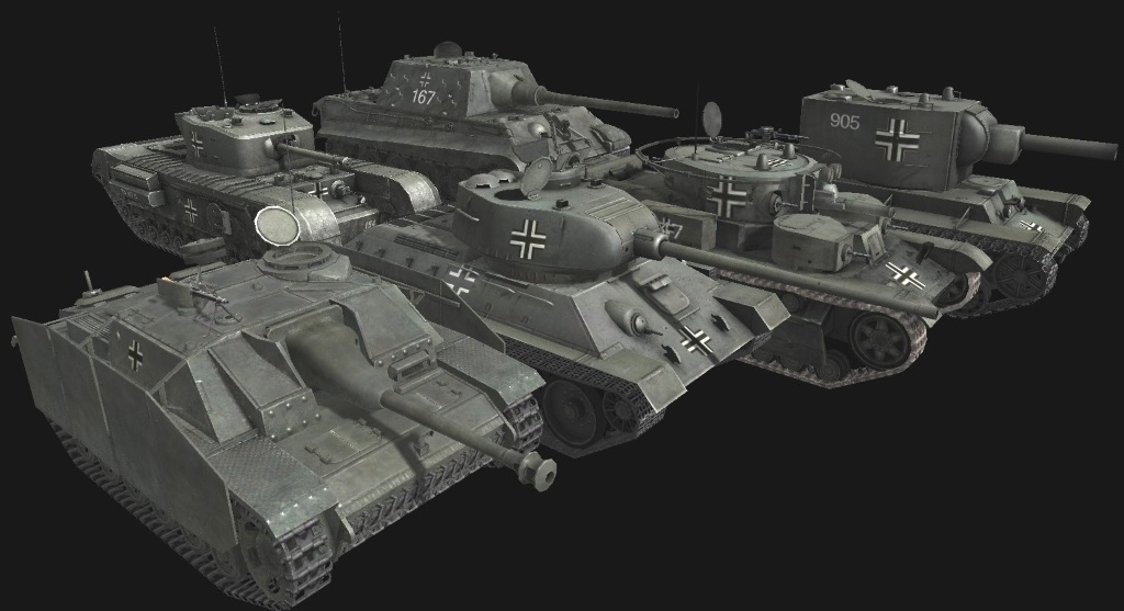 Скачать файл Panzergrau texmods for beutepanzer and panzer tanks — (AS2 — 3.260.0)