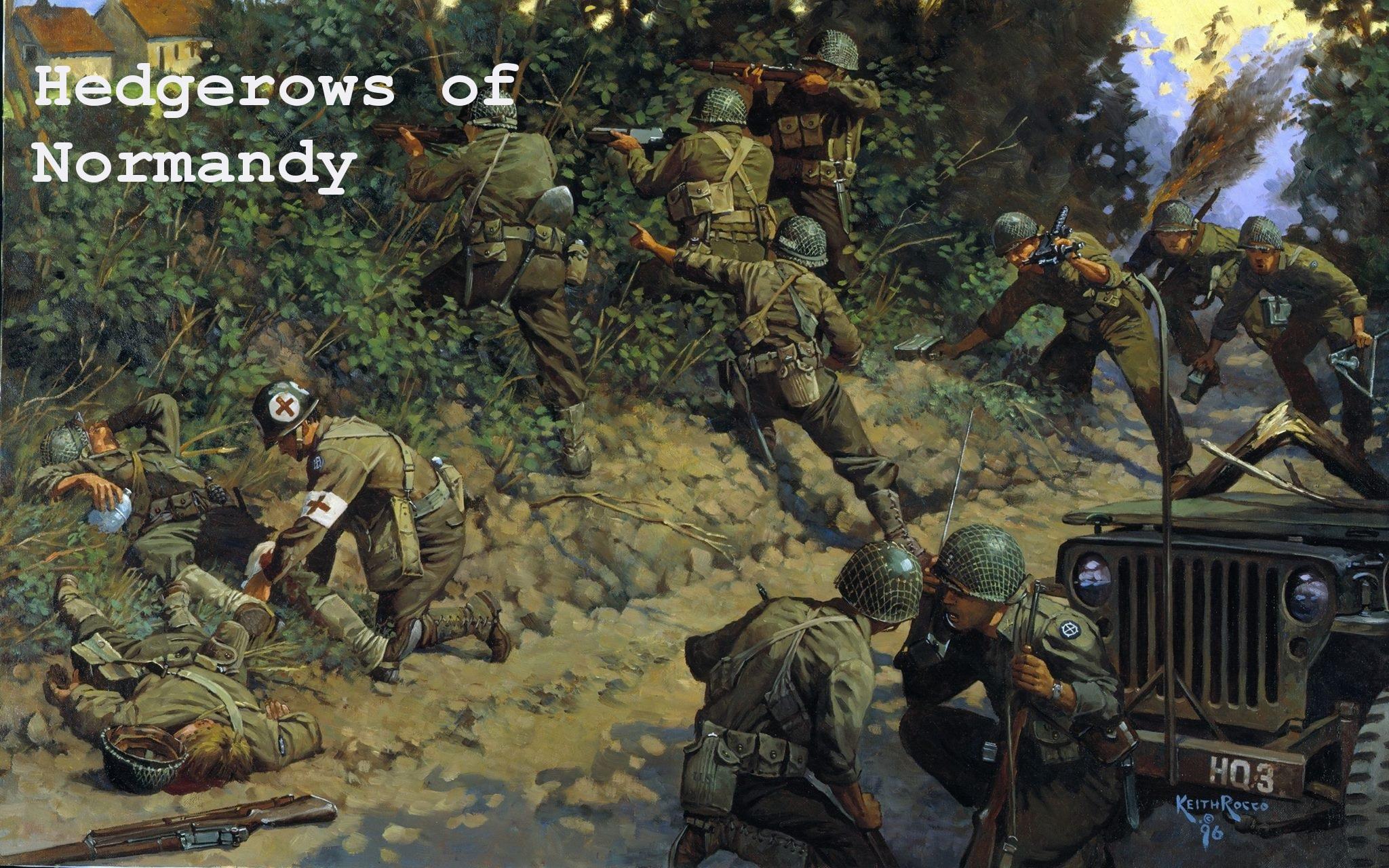 Скачать файл Hedgerows of Normandy (SP/COOP) (RobZ) — (AS2 — 3.260.0)