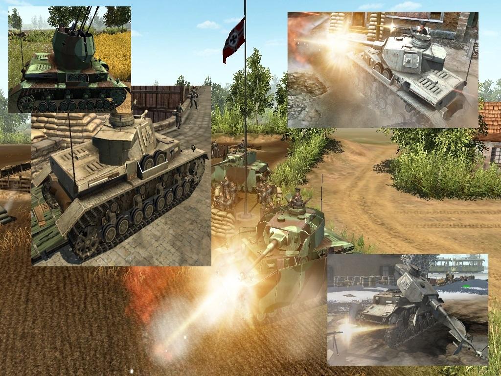 Скачать файл Новые HD танки panzer VI пак