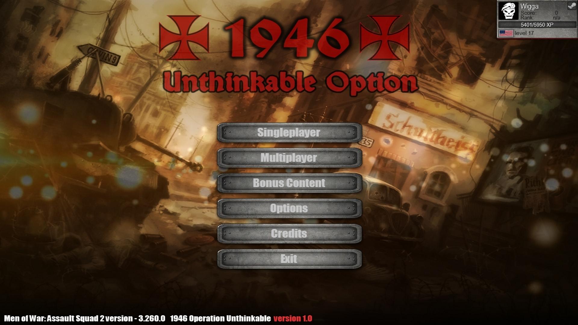 Скачать 3D модель 1946 - Unthinkable Option (AS2 — 3.260.0) (v28.05.2018)