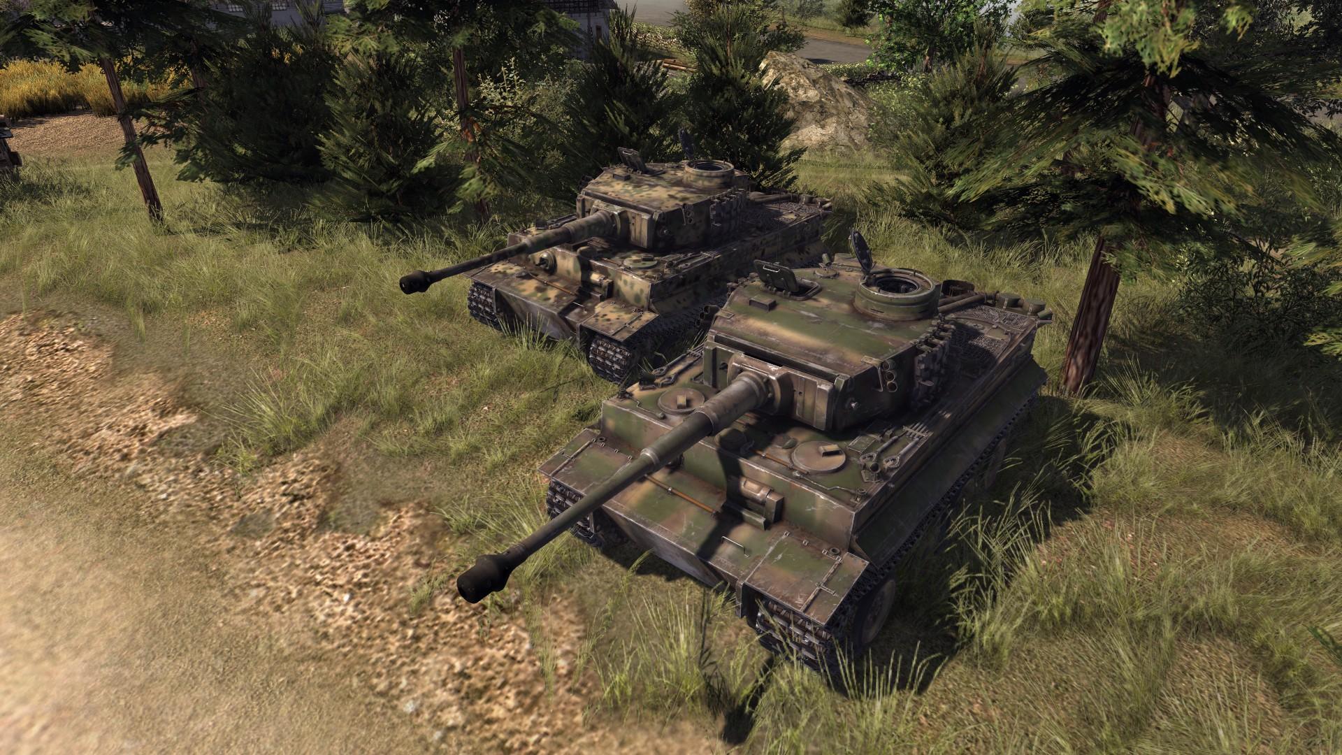 Скачать 3D модель WT Pzkpfw Tiger h1 (AS2 — 3.260.0)