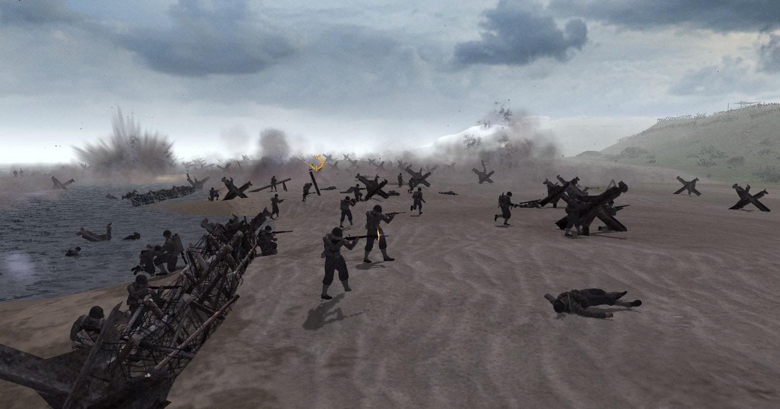 Скачать Omaha Beach - Historical Scenario Version 2.0 (RobZ) (Editor) (AS2 — 3.260.0) — бесплатно