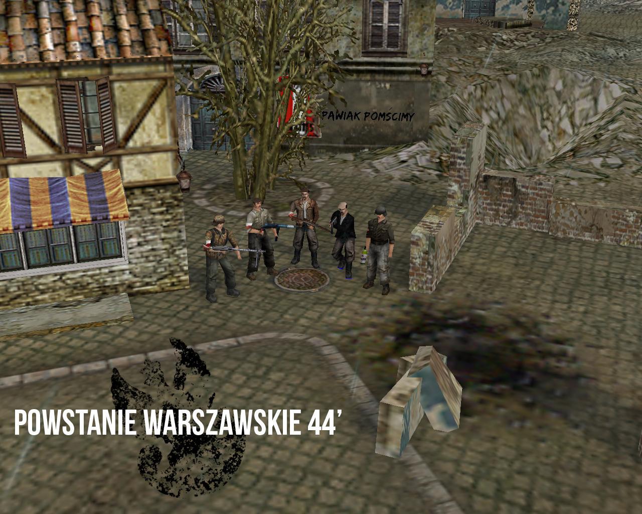 Скачать 3D модель Warsaw Uprising 1944 v1.1 (ENG)