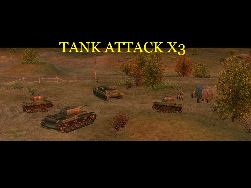 Скачать Tank Attack X3 — бесплатно
