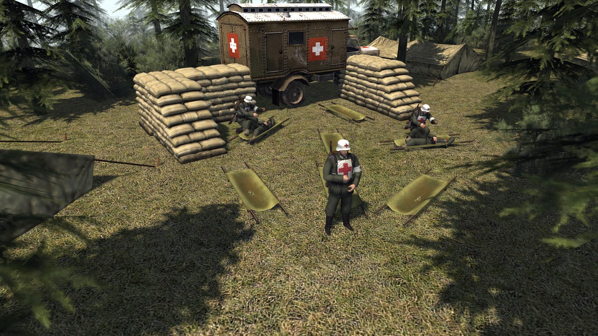Скачать Battle of Kursk (SP/COOP) (RobZ) (AS2 — 3.260.0) (v01.08.2018) — бесплатно