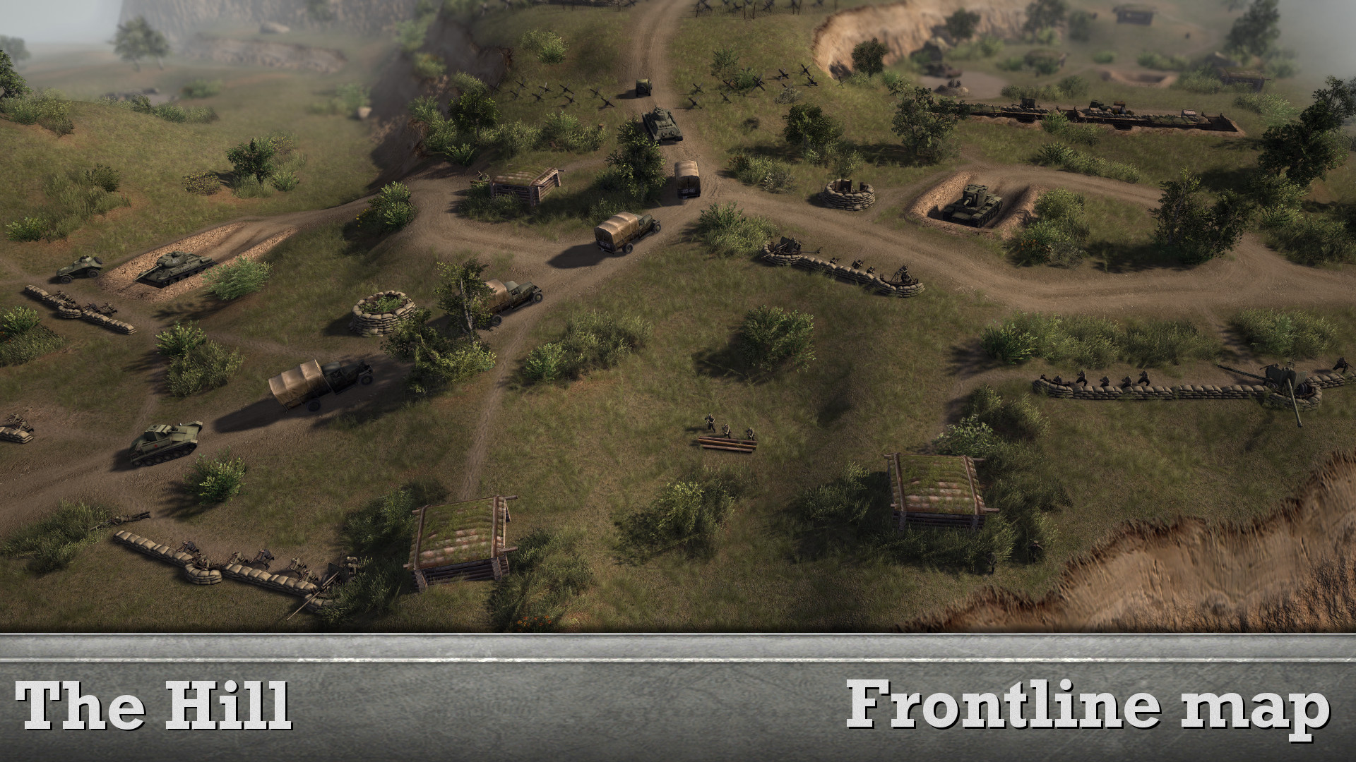 Скачать The Hill - Frontline map - 1x1 (AS2 — 3.260.0) (v09.09.2018) — бесплатно