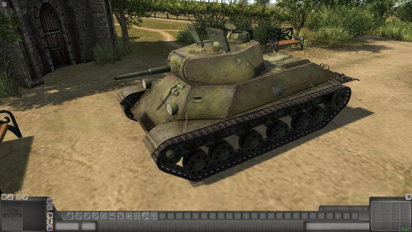 Скачать T-50 — автор SMF, (не отзеркаленная модель) — бесплатно