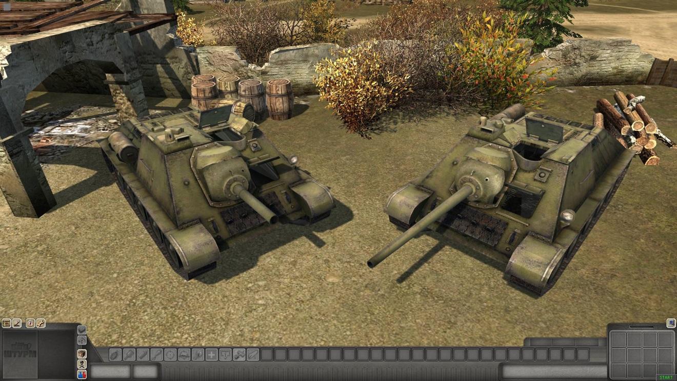 Скачать 3D модель SU-85 — автор SMF, (не отзеркаленные модели)