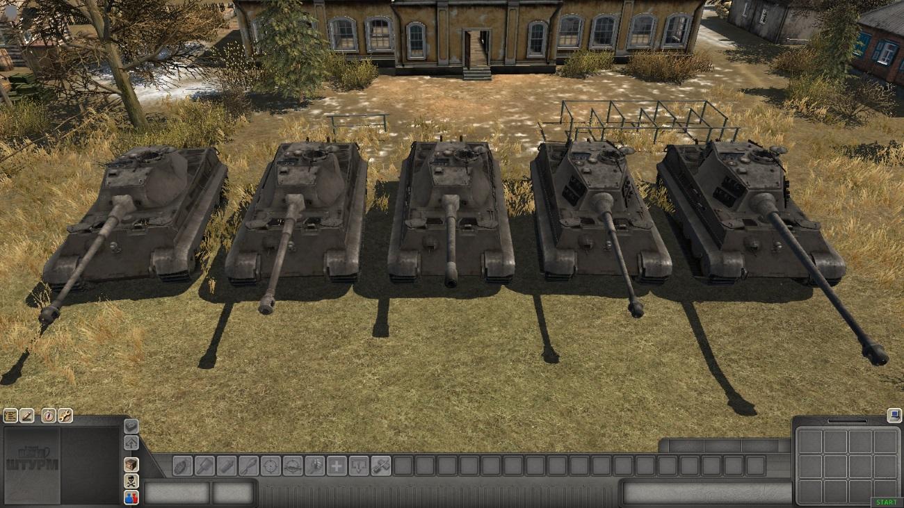 Скачать Tiger II — автор SMF, (не отзеркаленные модели) — бесплатно