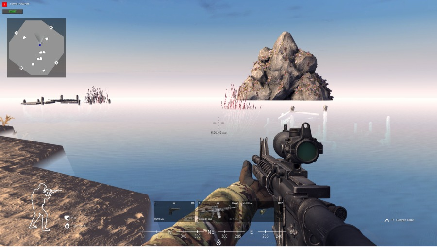 """Скачать файл Карта """"Остров"""" под зомби тематику 500х500 (CtA — 1.000.2)"""