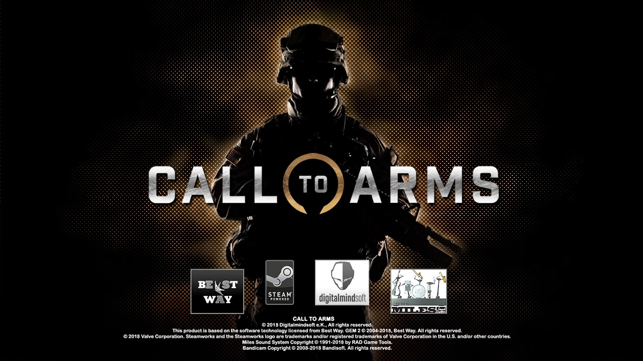 Скачать Call to Arms (1.018.1) (MP only) (Steam) — бесплатно