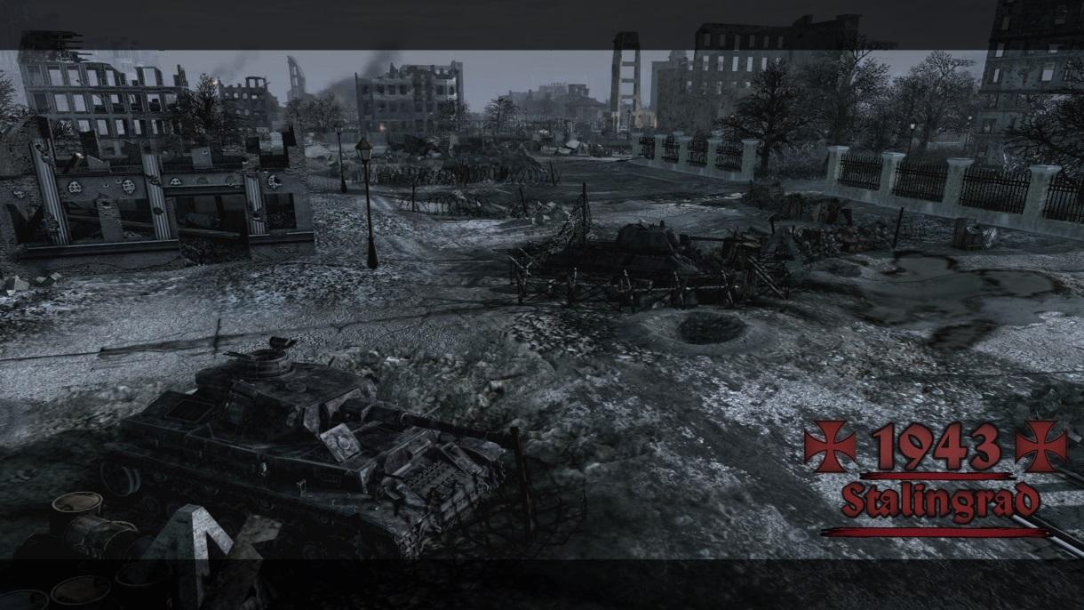Скачать 3D модель 1943 - Stalingrad (AS2 — 3.262.0) (v13.12.2018)