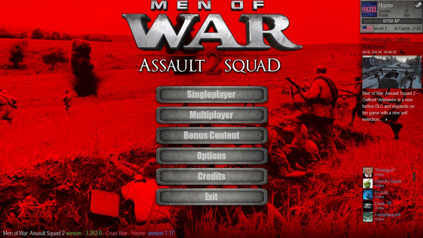 Скачать 3D модель Cruel War (AS2 — 3.262.0) (v05.12.2018)