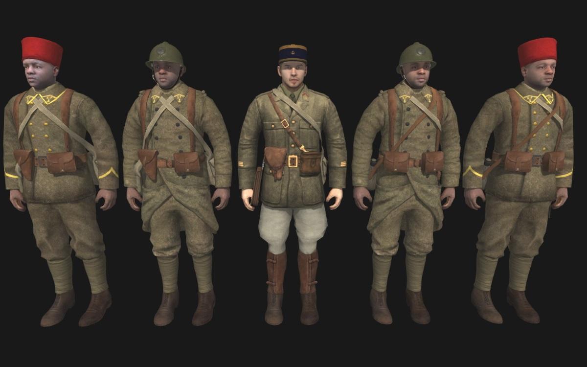Скачать 3D модель Epic French Skins (AS2 — 3.262.0) (v02.11.2018)