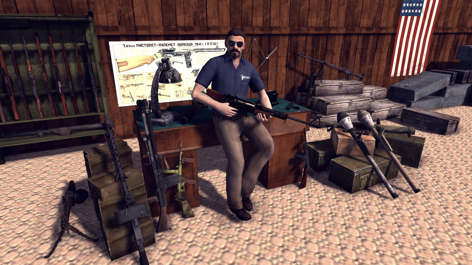 Скачать файл Guns for RobZ Realism Mod (AS2 — 3.262.0) (v02.11.2018)