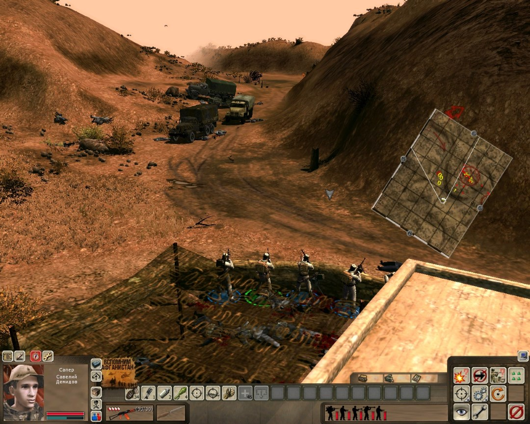 Скачать 3D модель Forgotten_war (Афганская война) для версии COLD WAR MOD 1.6.2.2