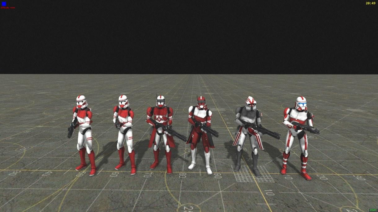 Скачать 3D модель Star Wars The Clone Wars TV Series skins (AS2 — 3.262.0) (v22.01.2019)