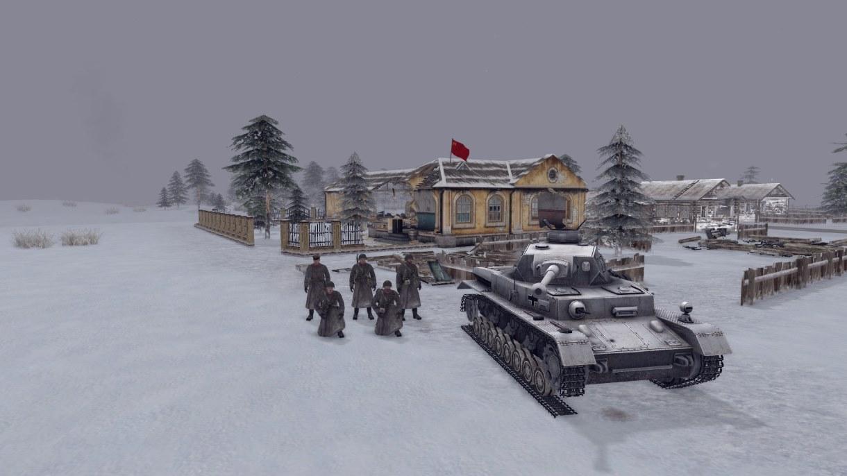 Скачать Winter in Stalingrad (AS2 — 3.262.0) (v02.02.2019) — бесплатно