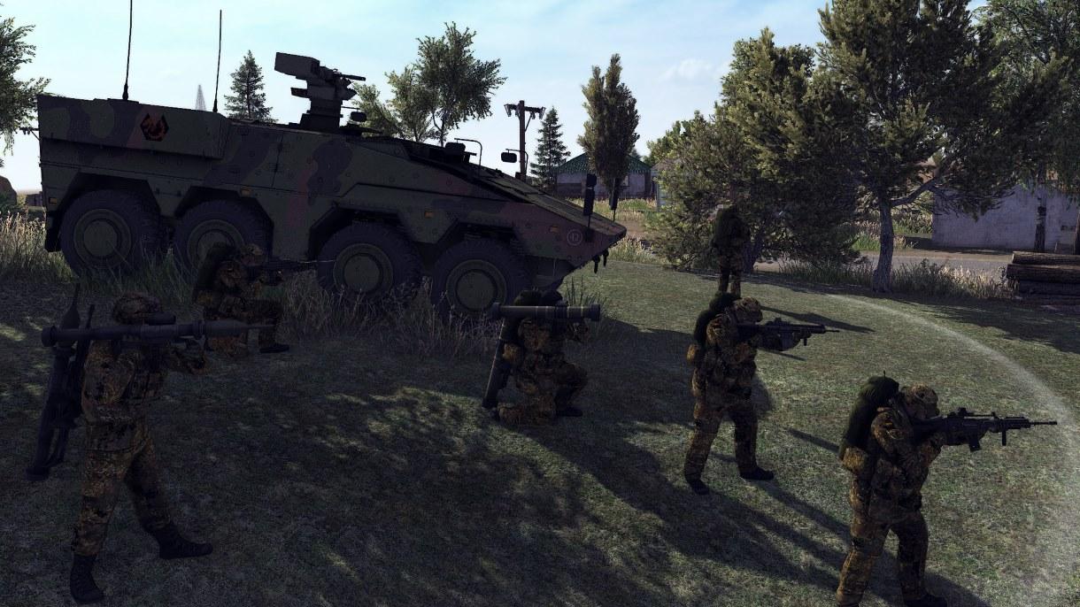 Скачать 3D модель Call to Arms Patch Army (CtA — 1.000.2) (v10.02.2019)