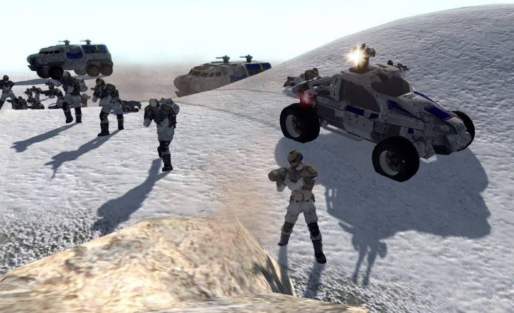 Men of War: Planetside v10.0 (AS2 — 3.262.0) (v08.03.2019)