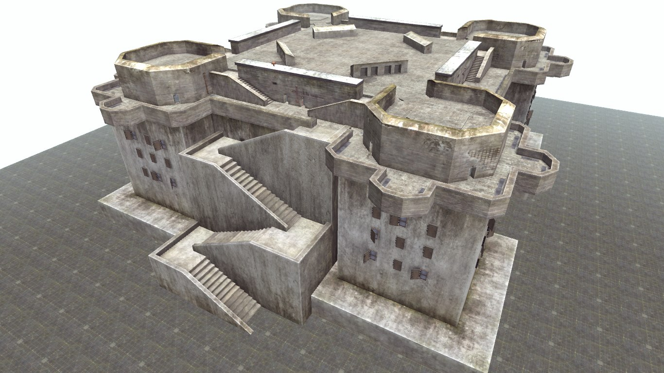 Скачать файл Bunker Hamburg Flakturm IV (Totaler Krieg)