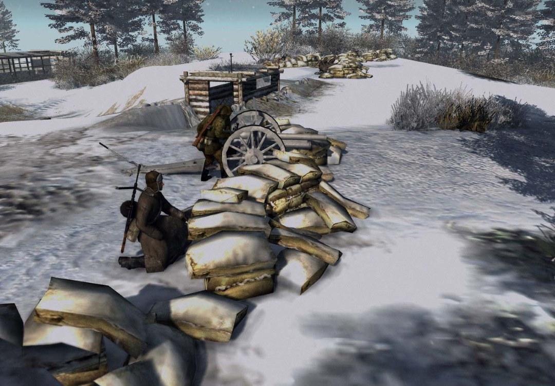 Battle for Moscow part 2 (Битва за Москву часть 2, Подвиг Кремлевских курсантов) (AS2 — 3.262.0) (v15.03.2019)
