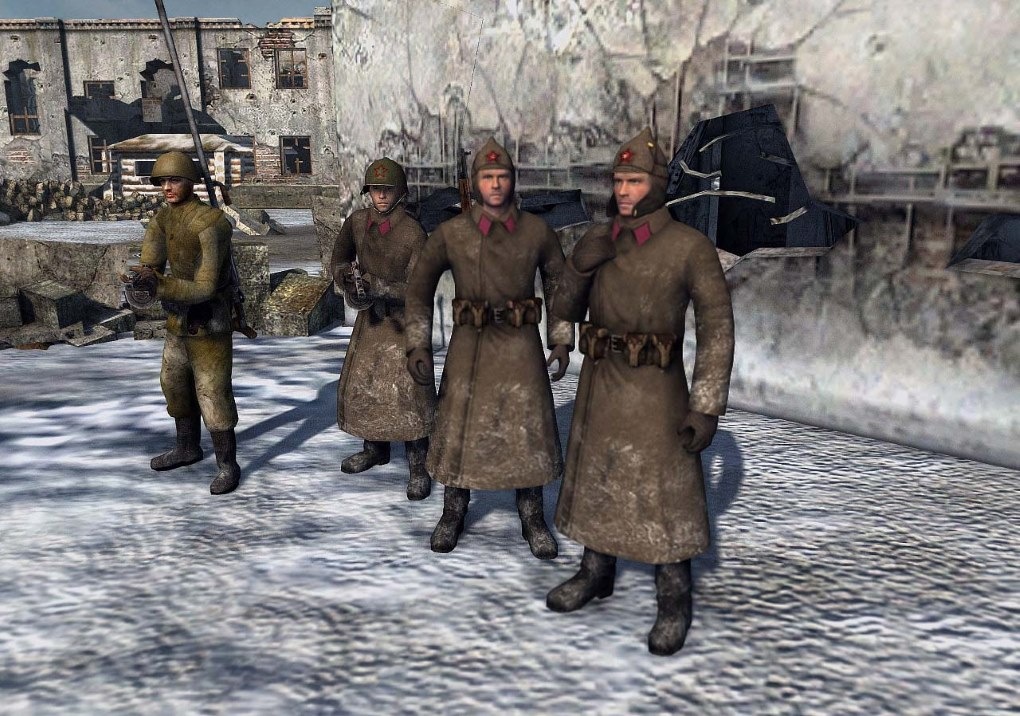Stalingrad Confrontation 2. Continuation (AS2 — 3.262.0) (v21.03.2019)