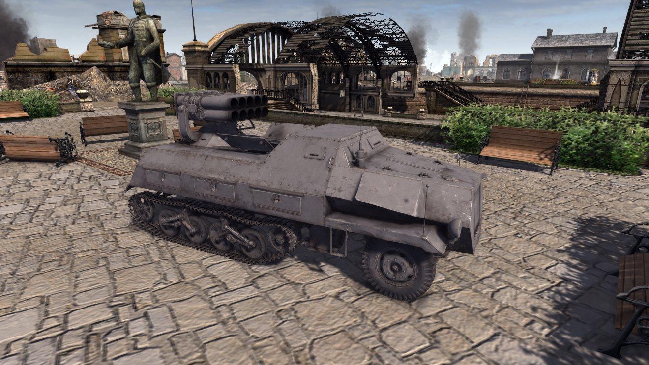 Скачать файл WT Sd.kfz4 Panzerwerfer (AS2 — 3.262.0) (v02.05.2019)