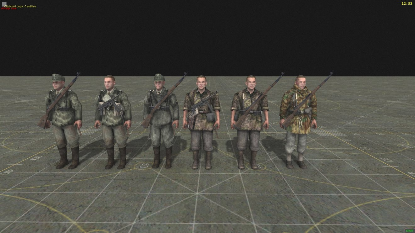 Call of Duty World at War Skins By Wodzu (AS2 — 3.262.0) (v02.05.2019)