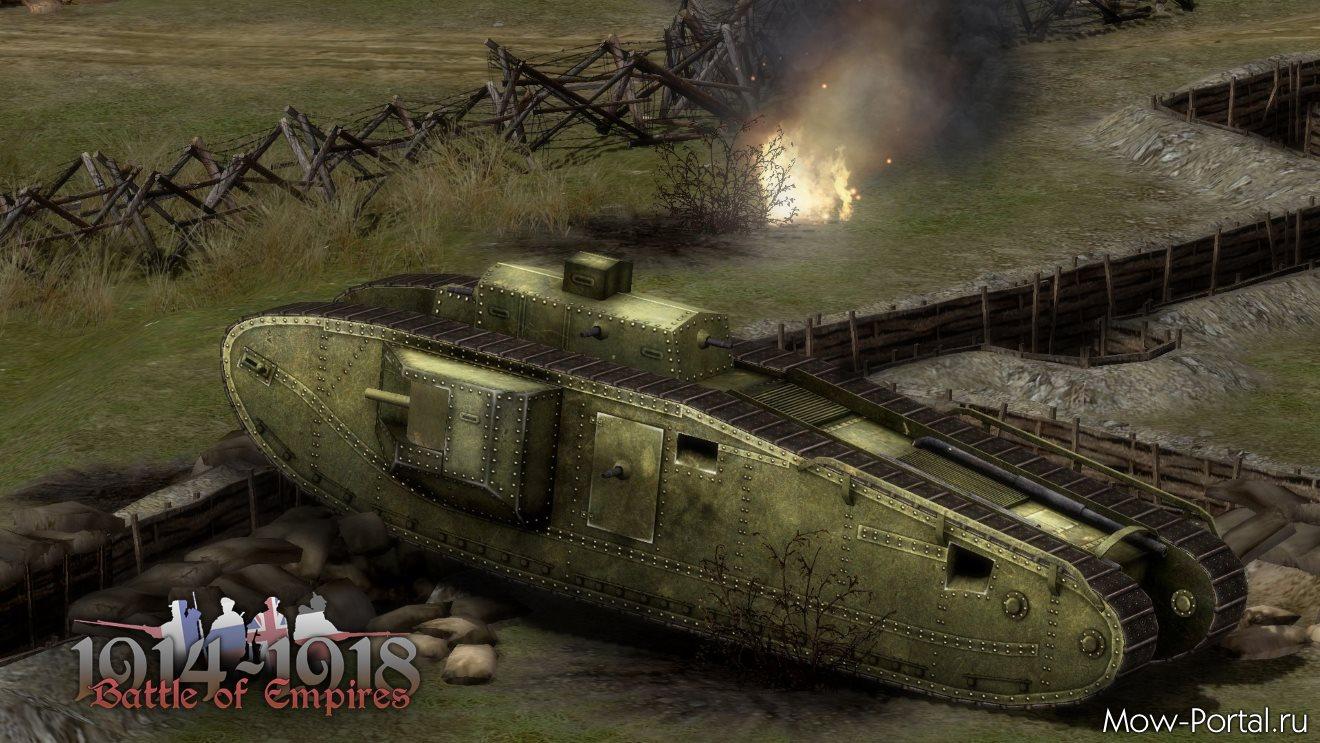 Battle of Empires: 1914-1918 (1.506) + 10 DLC (ENG)