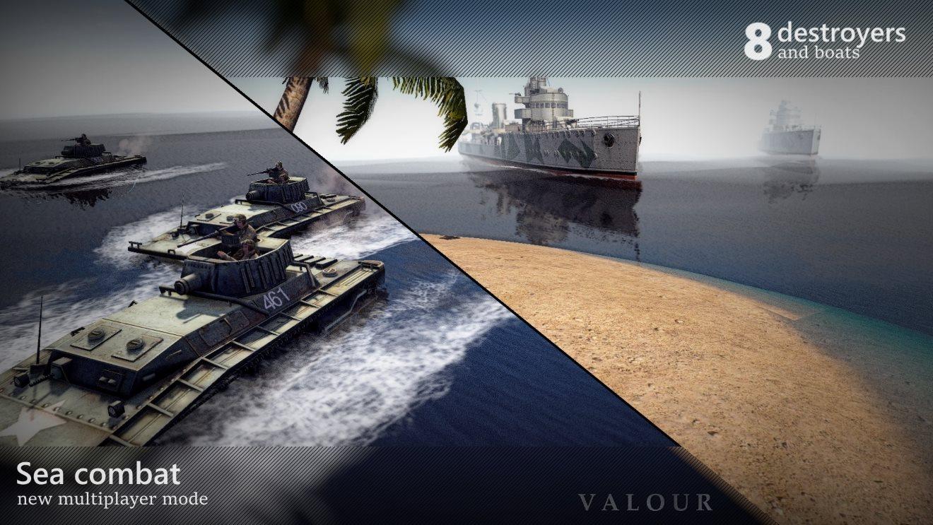 Valour 2 (Отвага 2) (AS2 — 3.262.0) (v13.12.2019)