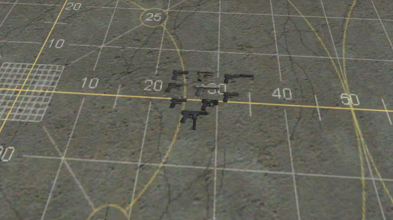Пак оружия из игры Counter-Strike: Global Offensive