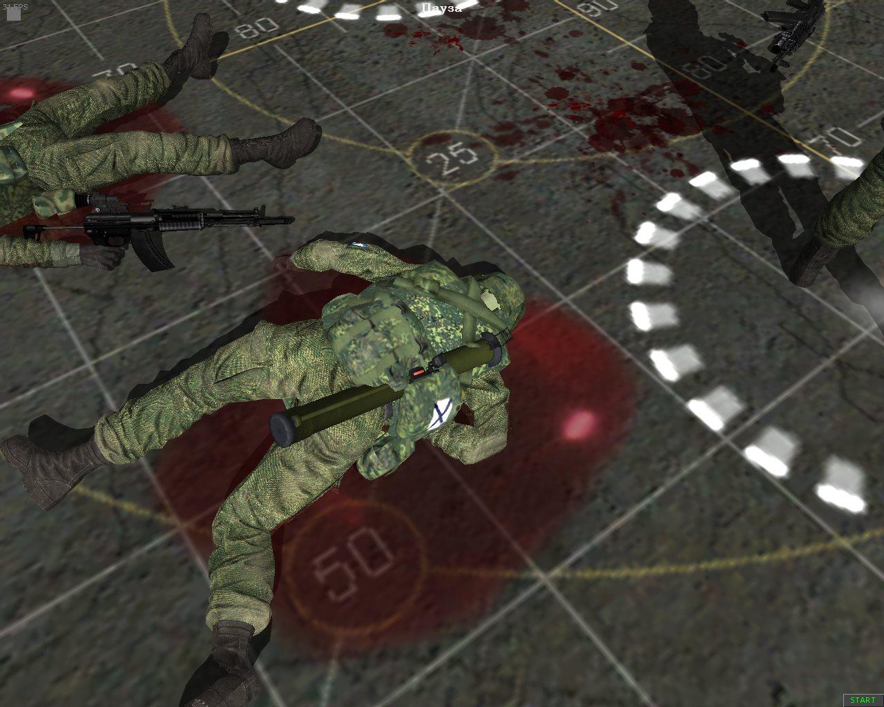 Скачать Blood Mod для Cold War — бесплатно