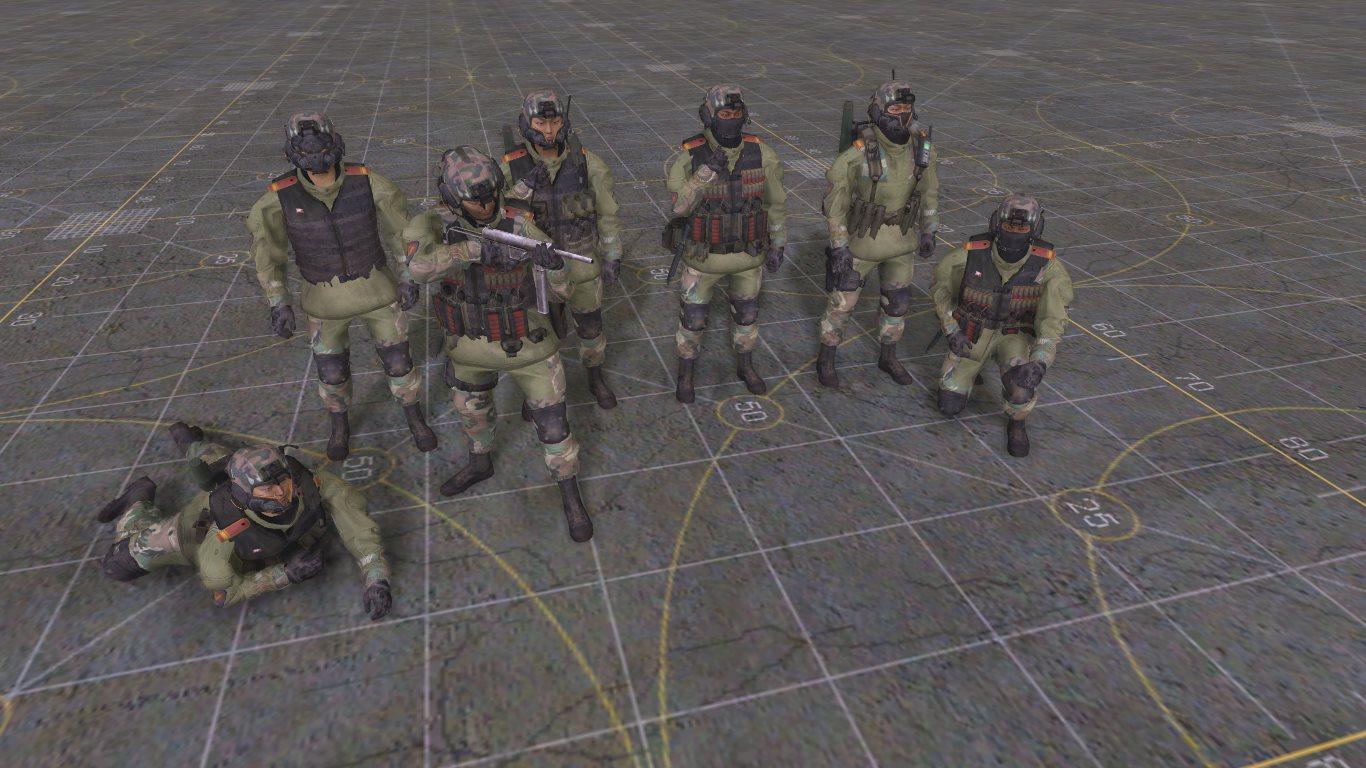 Солдаты Корейской народной армии из COD: Advanced Warfare