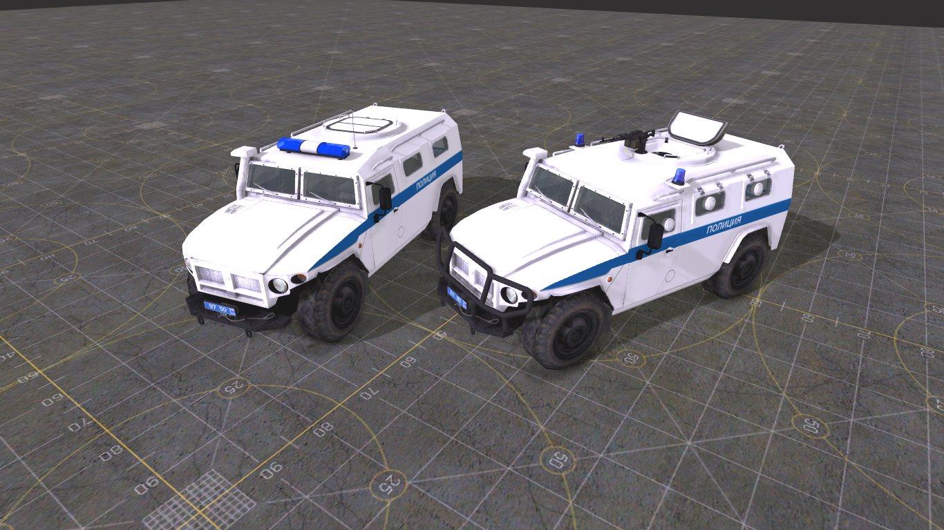 ГАЗ-233034 Тигр СПМ-1
