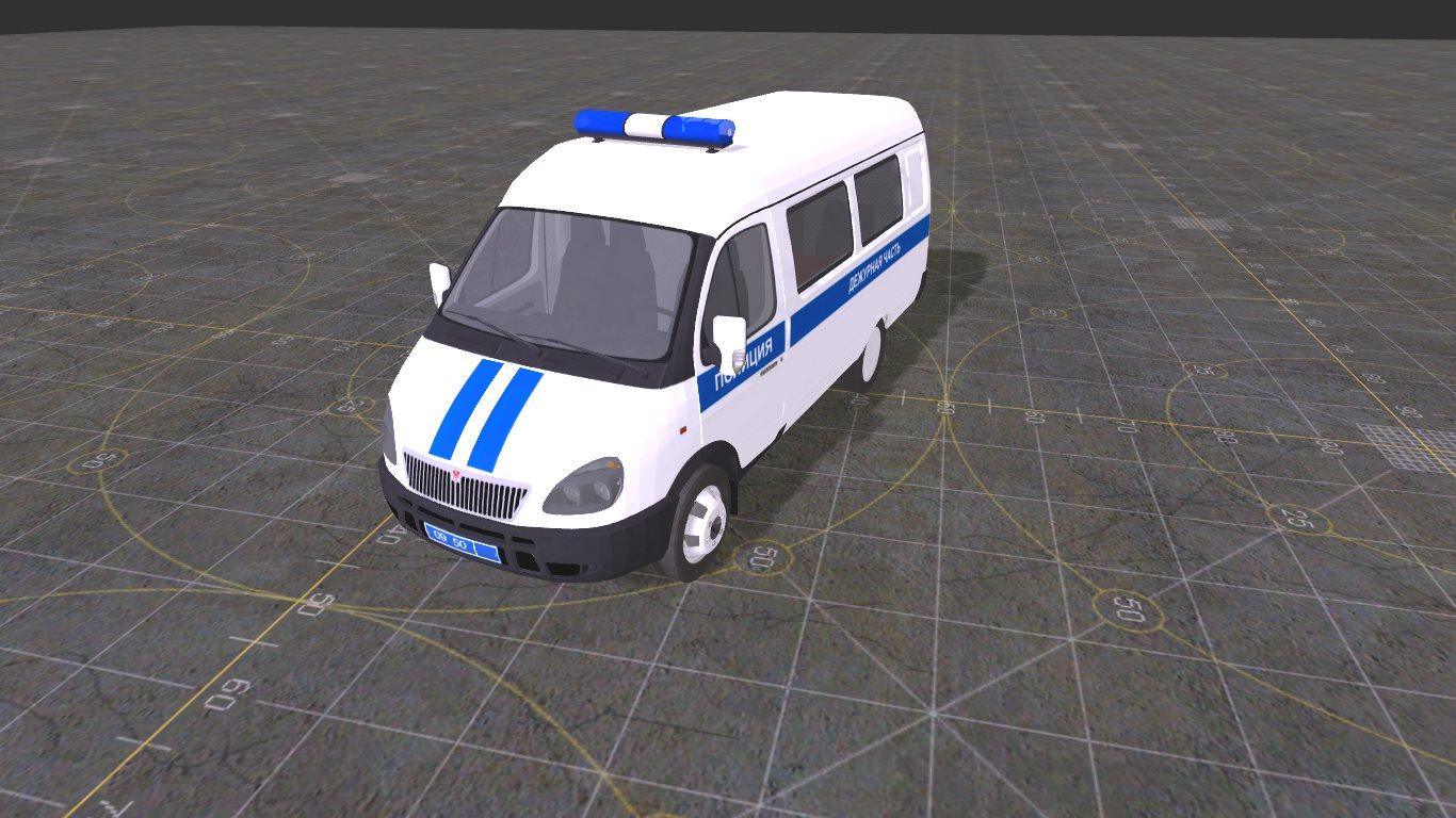 ГАЗ 2705 Полиция