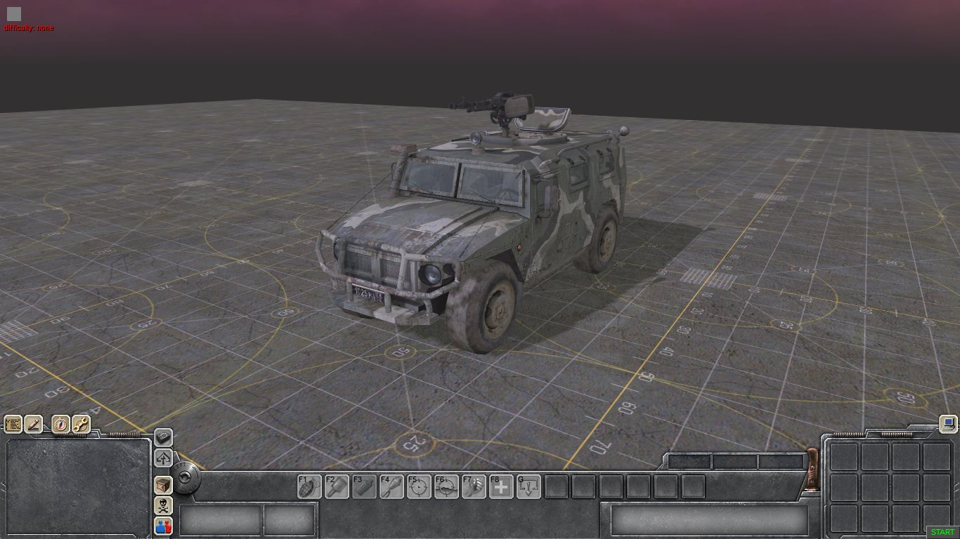 ГАЗ Тигр из игры Call of Duty: Modern Warfare 3