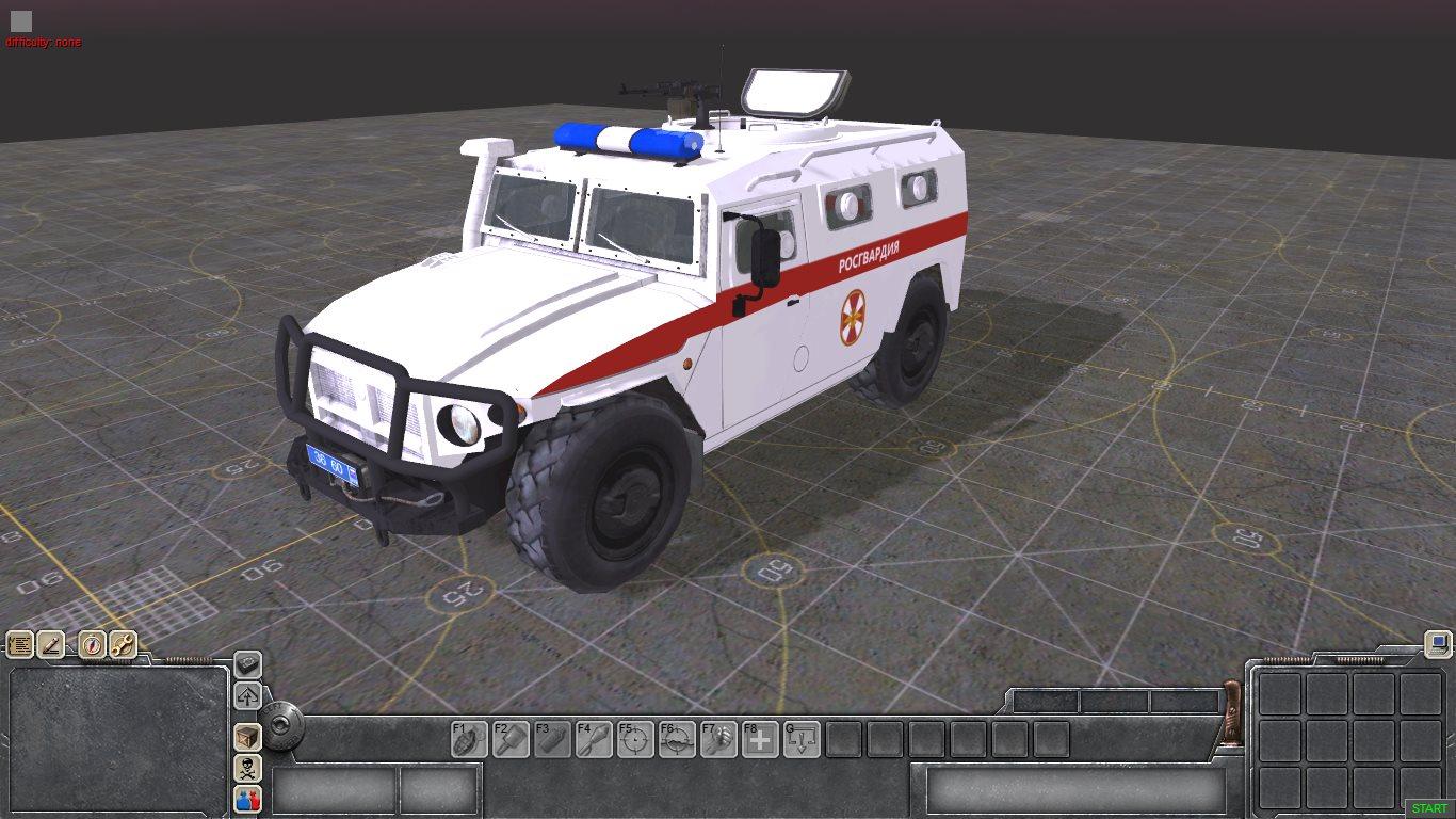 ГАЗ-233034 Тигр Росгвардия
