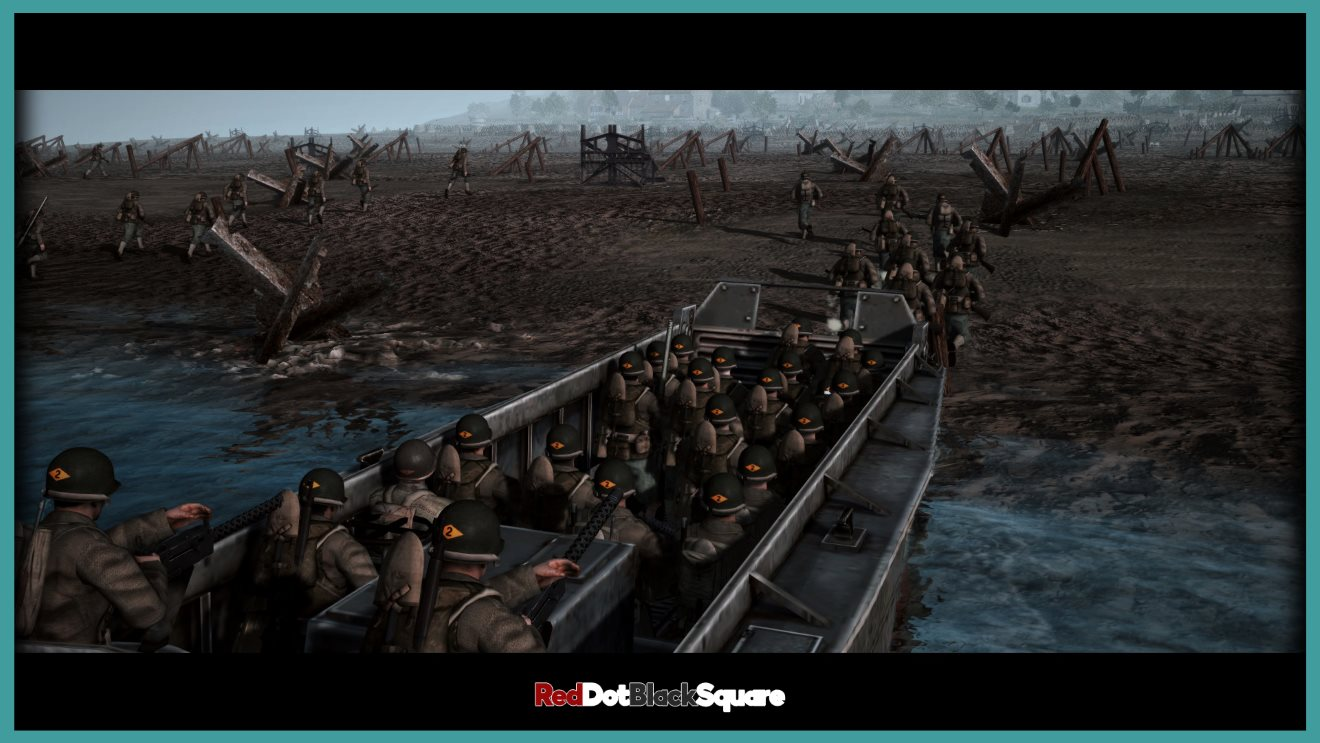 D-Day Invasion - Omaha Beach, Normandy 1944 - Attack Mission (RobZ) (AS2 — 3.262.0) (v04.11.2019)