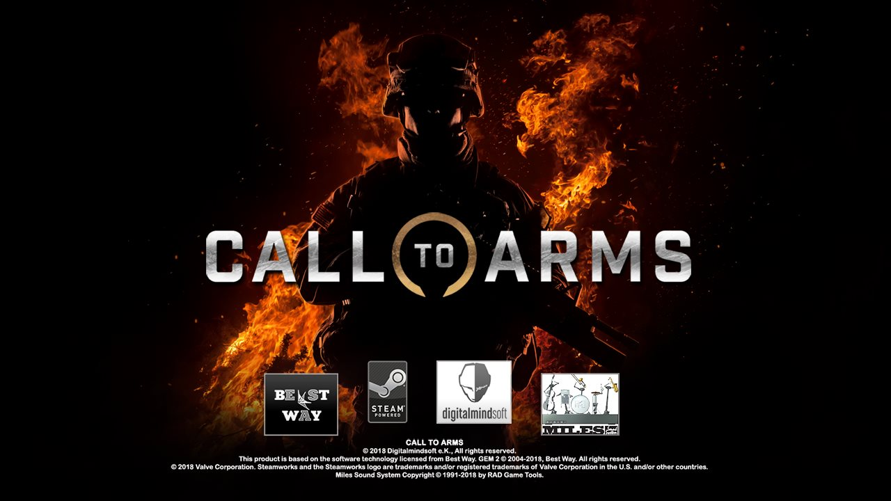 Скачать Call to Arms — Ultimate Edition 1.200.0 + Full DLC — RePack от xatab