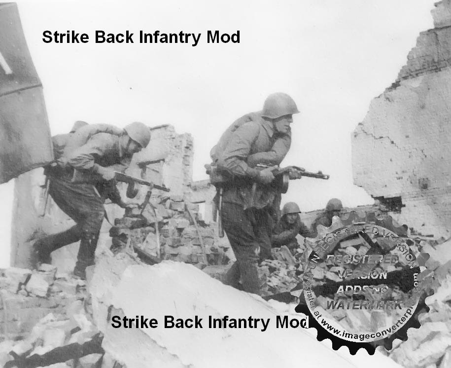 Скачать Strike Back Infantry Mod 0.45 — бесплатно