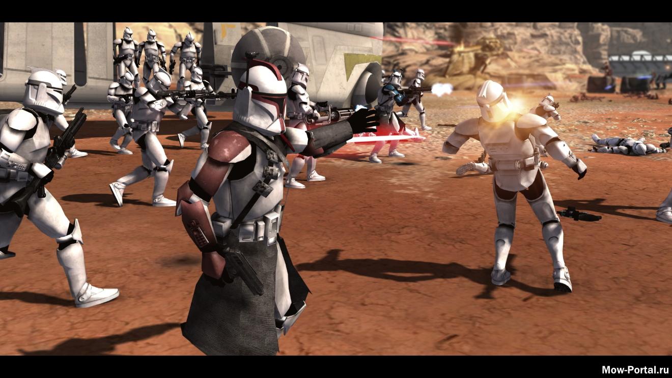 Скачать файл Star Wars: Galaxy At War 0.6 (AS2 — 3.262.0) (v03.08.2020)