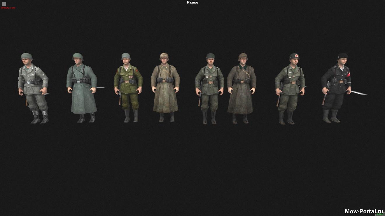 Call of Duty 2 Skins + (AS2 — 3.262.0) (v07.03.2020)