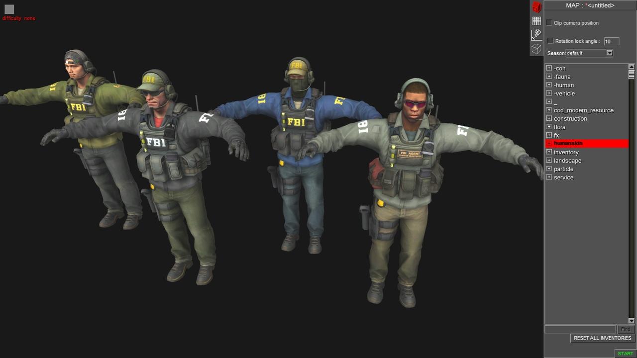 CS:GO - ФБР агенты