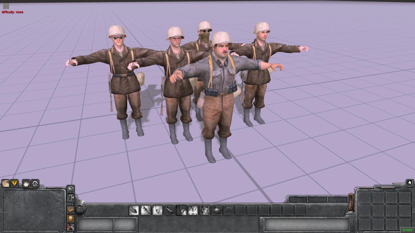 Немцы из Call of Duty 2
