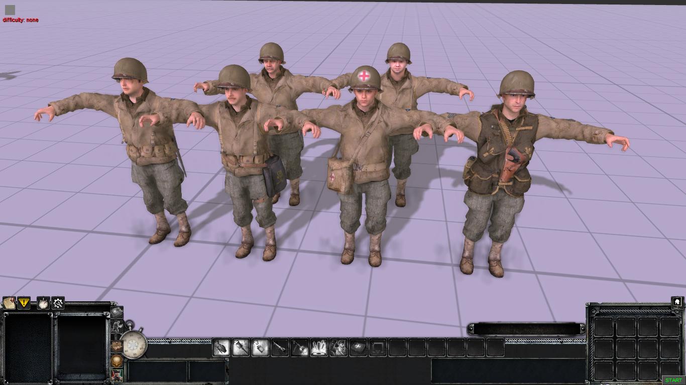 Рейнджеры из Call of Duty 2